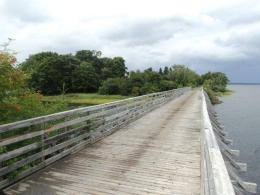 TC Trail stretched over French River